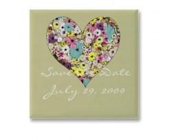 Personalized Love Flower  Mouse Pad or Fridge Magnet (Min order 50pcs) Image 0